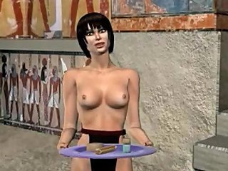 Bisexual Pharaoh Fucks Soldier And Female Slave 3d Mmf Gay Cartoon Anime